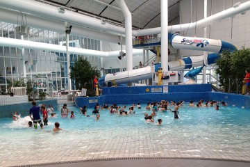 melbourne aquatic centre leisure area