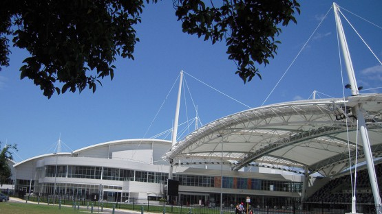 melbourne aquatic centre outside
